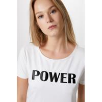 Blusa Suede Power-Off White - Pp