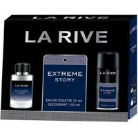 Kit Perfume Masculino 1 Extreme Eau De Toilette 75Ml + 1 Desodorante 150Ml - Unissex-Incolor