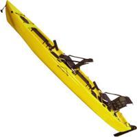 Caiaque Duplo Com 2 Remos Duplos Caiaker New Foca Fishing - Amarelo