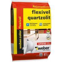 Rejunte Flexível Interno E Externo 5Kg Corda Quartzolit