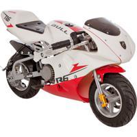 Mini Moto Bk-R6 49Cc Branco