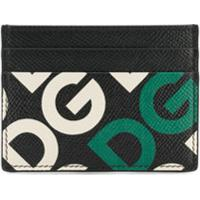 Dolce & Gabbana Porta-Cartões Com Logo - Preto