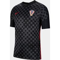 Camisa Seleção Croácia Away 20/21 S/N° Torcedor Nike Masculina - Masculino