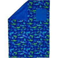 Manta Stephen Joseph Tubarão Azul