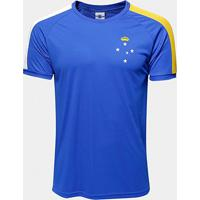 Camisa Cruzeiro 2006 S/N° Masculina - Masculino-Azul