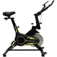 Bicicleta Ergométrica Para Spinning Preta E Verde E16 Acte