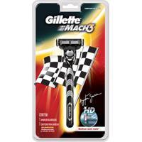 Aparelho De Barbear Gillette Mach 3 Com 01 Unidade