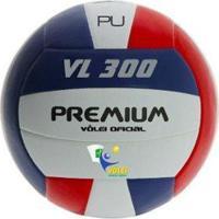 Bola Premium Volei Vl 300 Federada Pu - Unissex