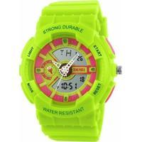Relógio Infantil Skmei Anadigi 1052 Pt - Unissex
