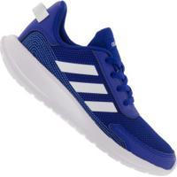 Tênis Adidas Tensaur Run K - Infantil - Azul/Branco