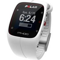 Monitor Cardíaco Polar M400 Hr, Com Gps, Funcionalidades Avançadas De Treino, Resistente A Água, Branco