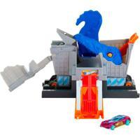 Pista Hot Wheels - Ataque Do T - Rex Na Mercearia - Mattel