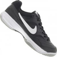 Tênis Nike Court Lite - Masculino - Preto/Branco