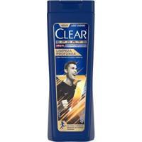 Shampoo Anticaspa Clear Limpeza Profunda 400Ml - Unissex-Incolor