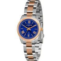 Relógio Feminino Lince Clássico Lrt4492L D3Sr - Unissex-Prata