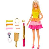 Boneca Barbie Penteados Dos Sonhos - Mattel - Kanui
