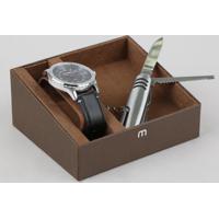 Kit De Relógio Analógico Mondaine Masculino + Canivete - 83390G0Mvnh2K Preto - Único