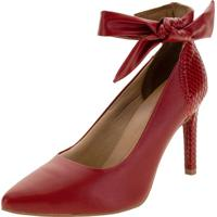 Sapato Feminino Salto Alto Dakota - G2391 Vermelho 35