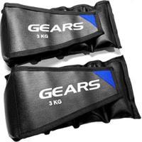 Par Caneleira Ajustável 3 Kg Gears - Unissex