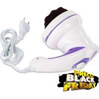 Massageador Orbital Body Massager - Combate A Fadiga E Cansaço, Descontrai Musculatura, Tonifica O Corpo E Quebra Gordura - Supermedy