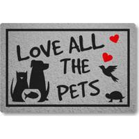 Capacho Linha Tapets Love All The Pets