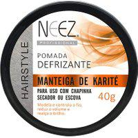 Pomada Defrizante Neez Manteiga De Karité Com 40G