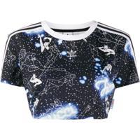 Fiorucci Camiseta Night Crop Fiorucci X Adidas - Azul
