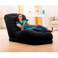 Poltrona Mega Lounge Preta 68595 Intex
