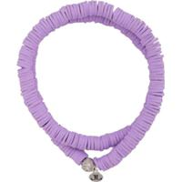 Lord And Lord Designs Pulseira Tribal - Roxo