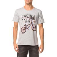 Camiseta Ckj Mc Estampa Racing Culture - Mescla - Ggg