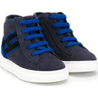 Hogan Kids Interactive Sneakers - Azul