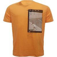 Camiseta Mormaii Aloha Melt - Masculino-Laranja