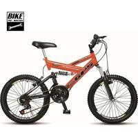 Bicicleta Colli Aro 20 Dupla Suspensão 36 Raias Freios V-Brake - Unissex