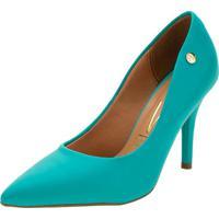 Sapato Feminino Scarpin Salto Alto Vizzano - 11841101 Azul 35