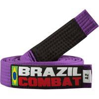 Faixa Brasil Combat Luta - Unissex