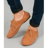 Sapato Soulier Oxford Pimenta - Caramelo Caramelo