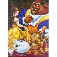 Relógio A Bela E A Fera - Princesas Disney - Mabruk