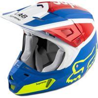 Supreme Capacete Fox Racing V2 - Azul