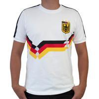 Camisa Retrô Mania Alemanha Iii Masculina - Masculino