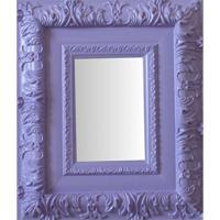 Espelho Moldura Rococó Externo 16254 Lilás Art Shop