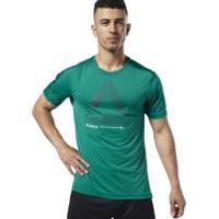 Camiseta Ost Activchill Move Masculina - Masculino-Verde