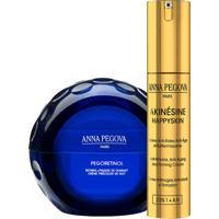 Kit Solução Rejuvenescedora Intensiva Anna Pegova - Creme Noturno Pegoretinol 40Ml + Anti-Idade Firmador Akinésine Ah 25Ml,