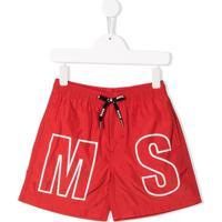 Msgm Kids - Vermelho