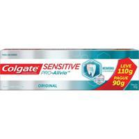 Creme Dental Colgate Sensitive Pro-Alívio Leve 110G E Pague 90G
