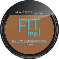 Maybelline Pó Compacto Fit Me Escuro Original Cor 300 - Feminino