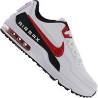 Tênis Nike Air Max Ltd 3 - Masculino - Branco/Vermelho