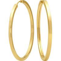 6610ebe78af3d Vivara  Argola Lisa Ouro Amarelo