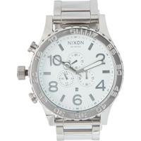 0f9e51498ac Relógio Nixon Chrono 51-30 A083 488 Prata