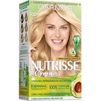 Coloração Nutrisse Garnier 100 Sol Louro - Unissex-Incolor