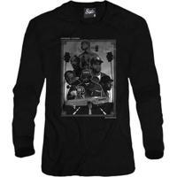 Casaco Moletom Skull Clothing Rappers California Masculino - Masculino-Preto